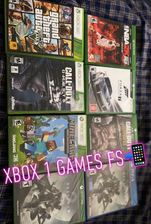 Xbox 1 PS4 games for Sale in Ardmore, PA