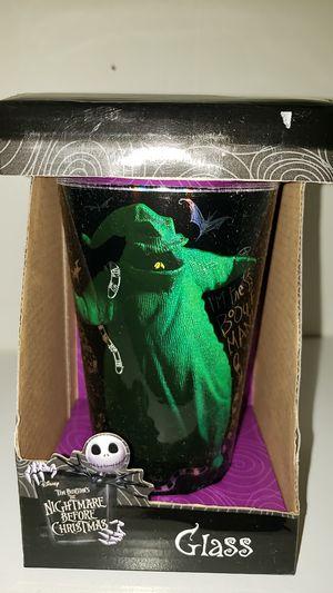 Disney Nightmare drinking glass for Sale in Manteca, CA