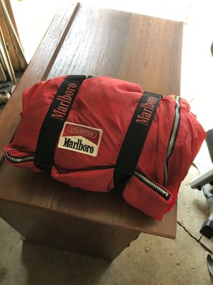 Vintage Marlboro Sleeping bag for Sale in Indianapolis, IN