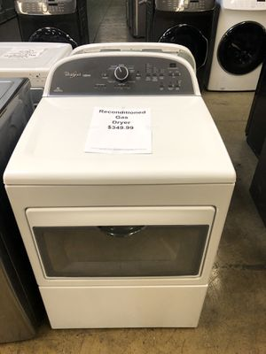 Reconditioned gas dryer with warranty for Sale in New Lenox, IL