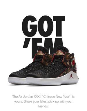 "Nike Air Jordan XXXII ""Chinese New Year"" for Sale in Barnegat Township, NJ"