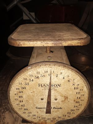 Vintage hanson scales for Sale in LRAFB, AR