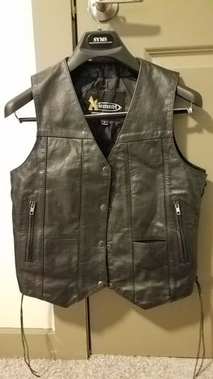 Ladies motorcycle vest for Sale in Woodstock, GA