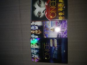 Once upon a time dvd seasons 1-3 $15 for Sale in Keysville, VA