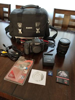 Canon 7D with 28-135mm lense bag and sim card for Sale in Des Plaines, IL