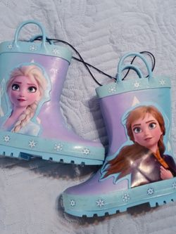 NWT Frozen Rain Boots for Sale in Waterbury,  CT