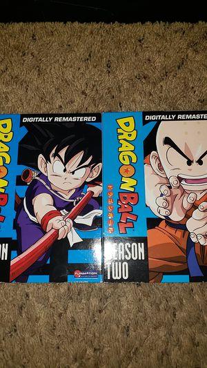 Dragonball Season 1 and 2 DVD Set for Sale in Lynnwood, WA