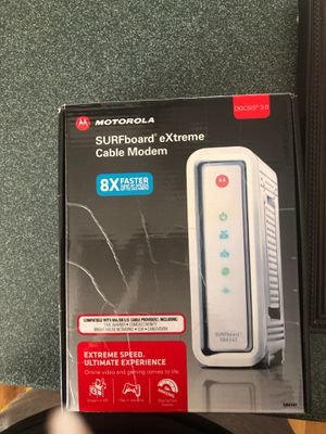 Motorola extreme cable modem for Sale in Columbia, SC