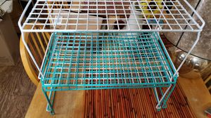 Whitmore metal wire stacking shelves x4 for Sale in Tampa, FL