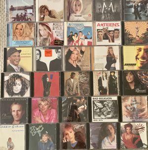 80s, 90s & 00s CDs 💿 (51 total) for Sale in Santa Monica, CA