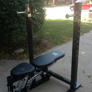 OLYMPIC WEIGHT BENCH PRESS / SQUAT RACK PLUS MORE for Sale in San Diego, CA