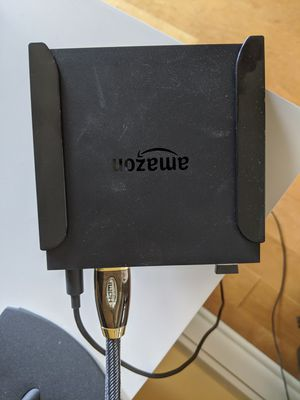Full Amazon Fire TV w/ mount for Sale in Seattle, WA