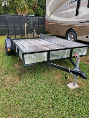 2018 6'×12' Utility Trailer with ramp for Sale in Sarasota, FL