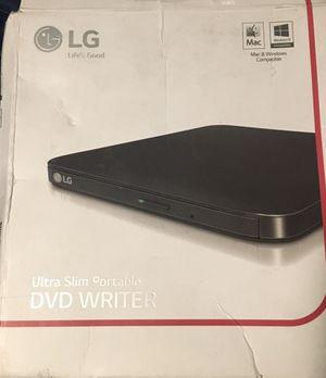 LG, ultra slim portable cd/dvd writer for Sale in Las Vegas, NV