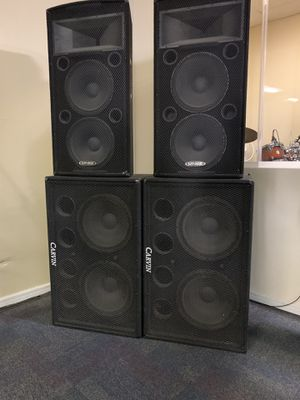 Pro/audio speakers for Sale in Phoenix, AZ