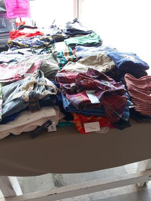 300 pieces designer clothing NEW WITH TAGS for Sale in West Park, FL