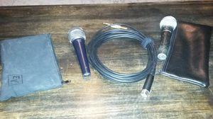 Cobalt electro mic and shure mic for Sale in Millersville, MD