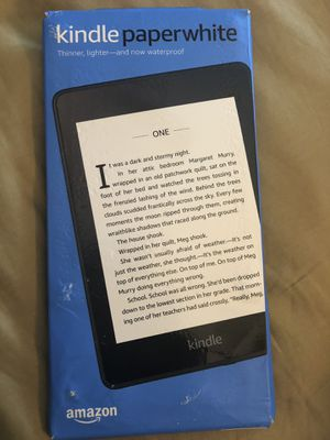 Kindle Paperwhite (Black) 32G 4GLTE+Wifi for Sale in Oakland Park, FL