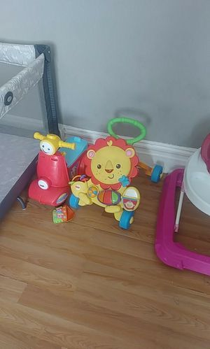 Baby bike and walker toy for Sale in St. Louis, MO