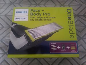 Philips Norelco OneBlade Pro Face and Body Trimmer for Sale in Daly City, CA