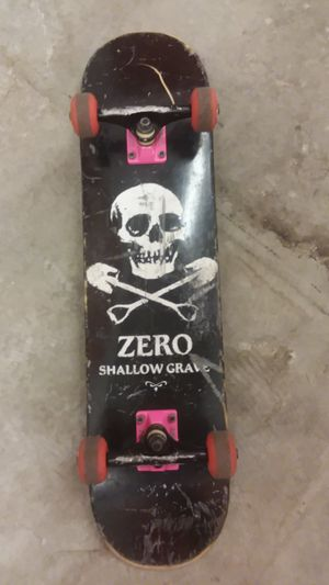 Shallow Grave Skateboard with Thunder Trucks for Sale in Seattle, WA