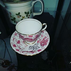 Delphine Red Dragon teacup and saucer for Sale in Puyallup, WA