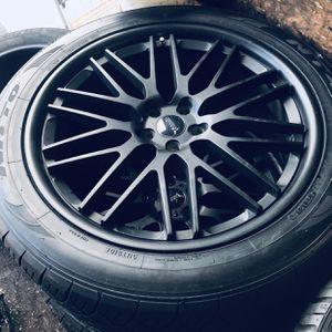 Savini Wheels with Nitto tires for Sale in Alexandria, VA