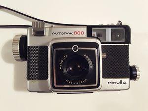 Vintage Minolta Autopak 800 Film Camera Good Condition for Sale in Pembroke Park, FL
