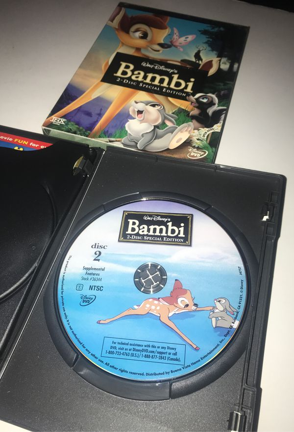 Disney's Bambi DVD