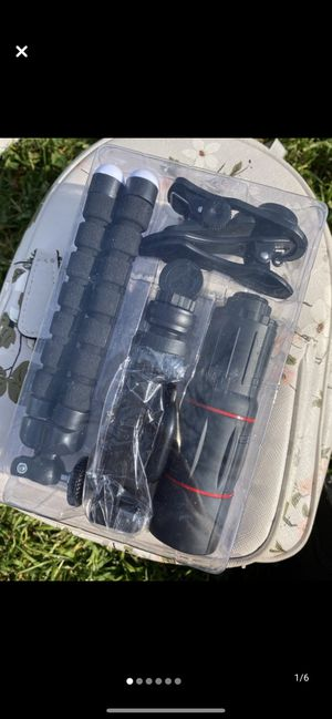 4-1 multifunction cellphone/camera lens kit no deliveries 🚗 for Sale in Los Angeles, CA
