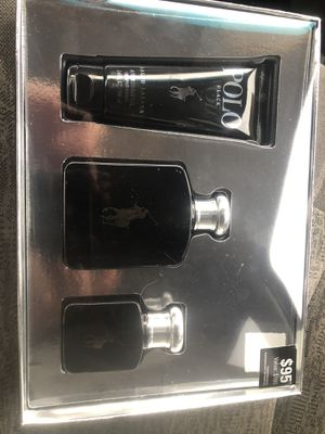 Black polo set 3pc fragrance for men's firm price authentic!!! for Sale in Philadelphia, PA