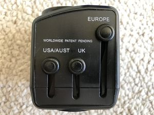 Travel Easy Universal Travel Adapter with Surge Protection Model #TXR7 for Sale in Los Angeles, CA