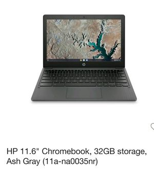 """HP 11.6"""" Chromebook Laptop, 32GB Storage Ash Gray for Sale in Westminster, CA"""