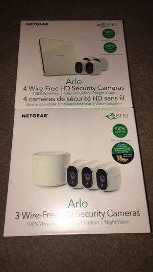 7 New Arlo wireless security cameras for Sale in Arvada, CO