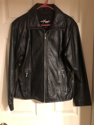Maxima leather jackets for Sale in Bunker Hill, WV