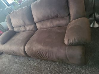 Tan Microfiber Couch for Sale in Columbus,  OH