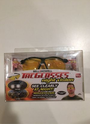 TacGlasses night vision Bell+Howell for Sale in Howell Township, NJ