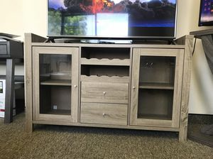Melissa Wine Cabinet, Dark Taupe, SKU # 171957 for Sale in Downey, CA