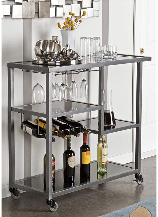 Sleek & Modern Bar Cart