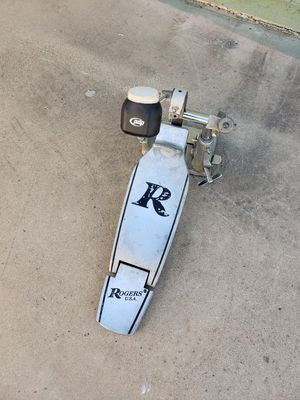 Roger's Big R 1970's bass drum pedal with hi-hat stand for Sale in Phoenix, AZ