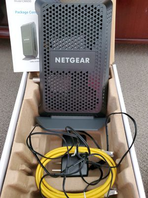 Brand NEW Netgear CM600 Modem. NEW IN BOX for Sale in Queens, NY