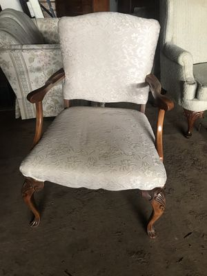 Very old reupholstered antique chair. for Sale in Canby, OR