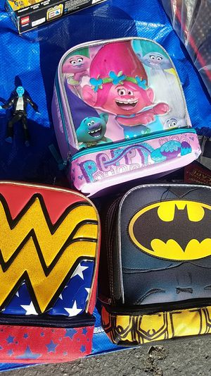 Character lunch boxes for Sale in Riverside, CA