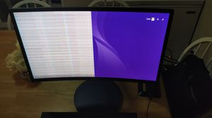 """NEEDS FIX - 24"""" SAMSUNG Curved Monitor for Sale in El Cajon, CA"""