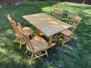 Dining table with chairs for Sale in West Jordan, UT