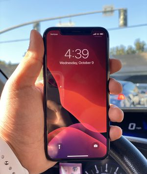 IPHONE X SPACE GRAY 256GB UNLOCKED for Sale in San Jose, CA
