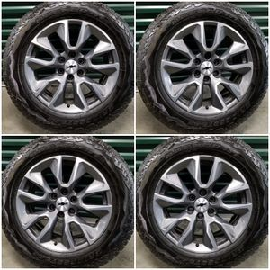 New Silverado Chevy RST 4x4 Wheels Rims Tires for Sale in San Fernando, CA