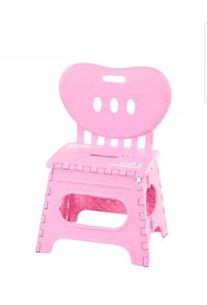 Kids Pink Small Step Stool for Sale in Sacramento, CA