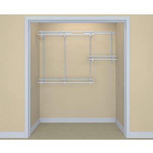 ShelfTrack 13 in. D x 72 in. W x 48 in. H Wire Closet System Organizer Kit for Sale in Tempe, AZ