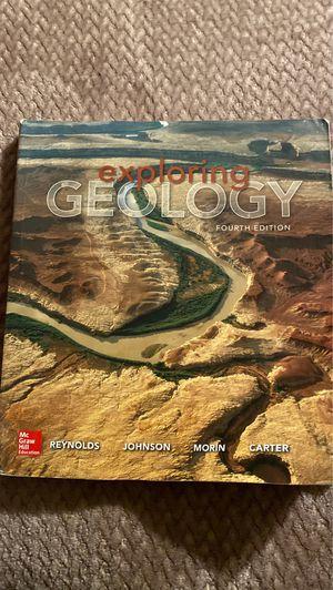 Exploring Geology 4th Edition for Sale in San Bernardino, CA